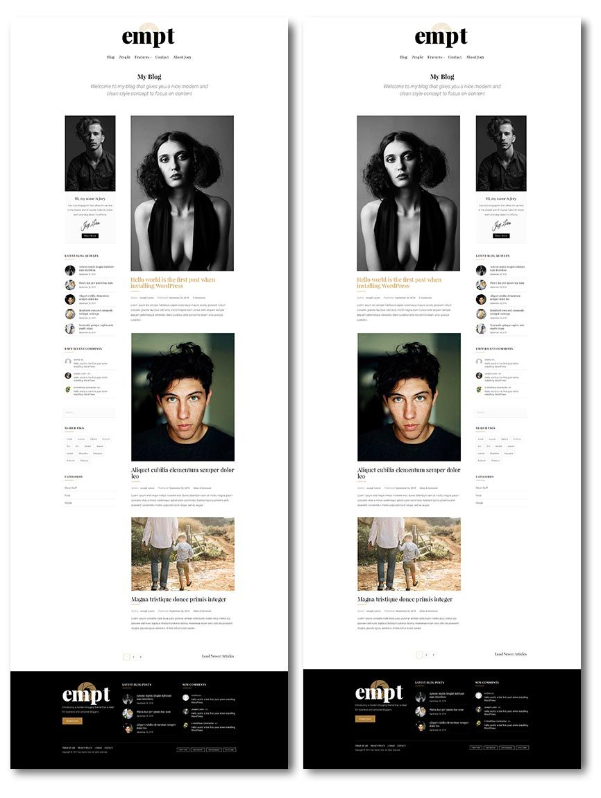 blog layouts 2