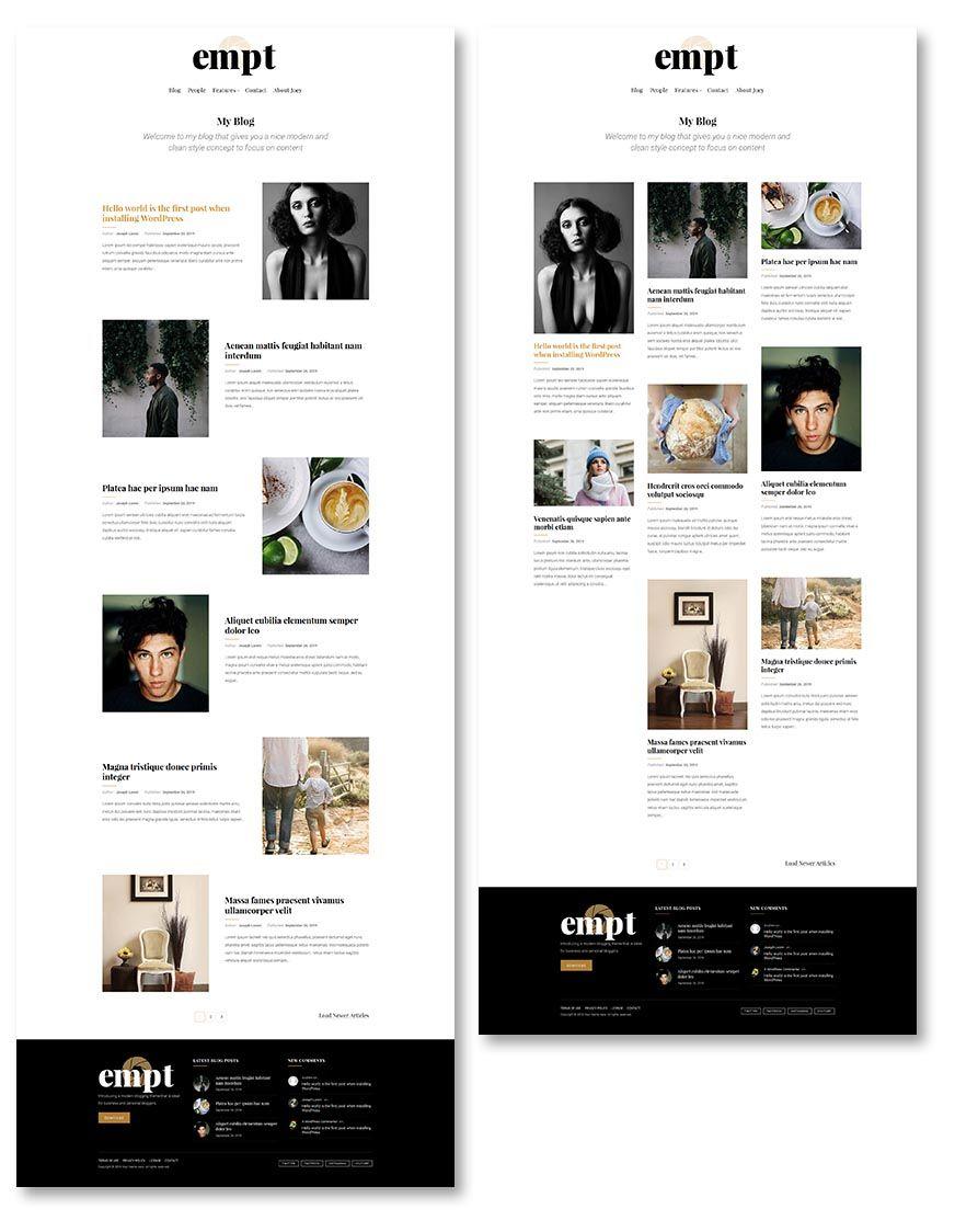 blog layouts 3